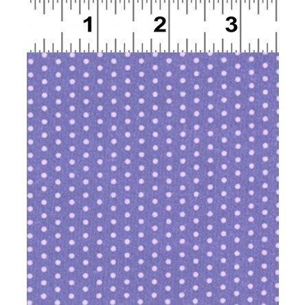 Frou-Frou Dot Voile  205- Lavender Dot on Purple