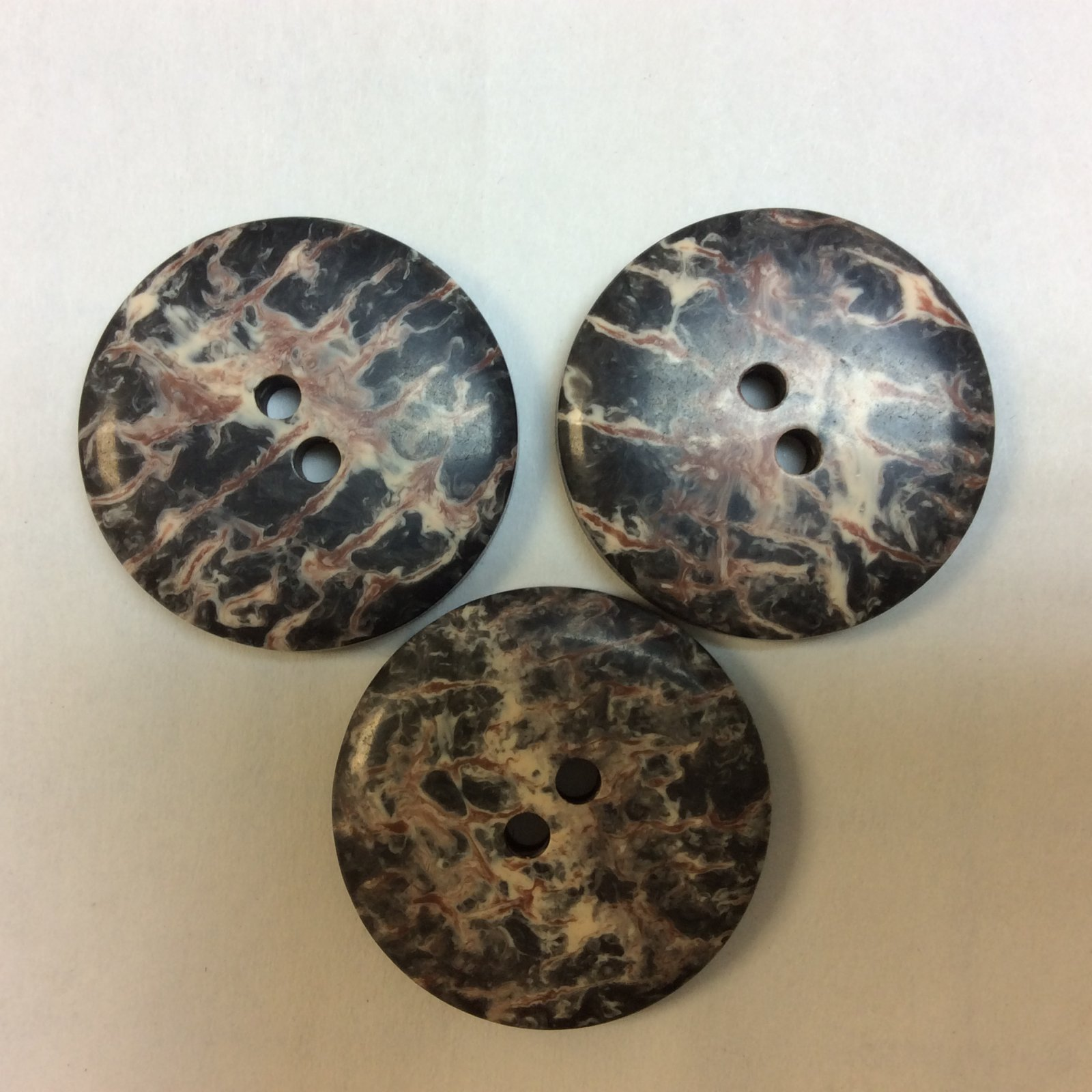 Stone Look Button 1 Inch