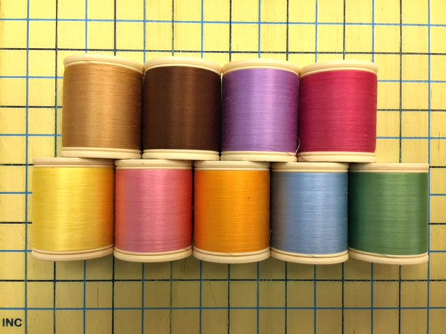 Bird Brain Easter Tea Towels Machine Embroidery Thread Kit