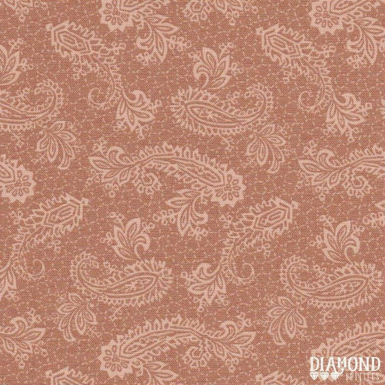 A Common Thread Paisley  Pink 10592