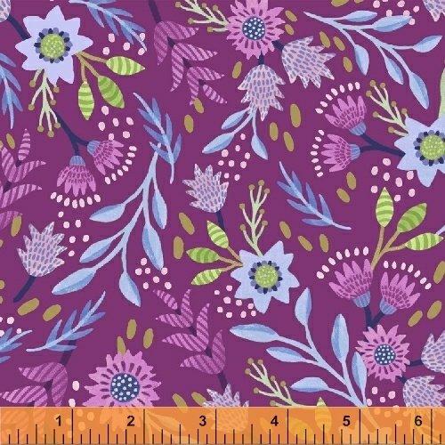 Flourish Berry Floral 43509-3