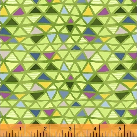 Flourish Green Mosaic 43510-5
