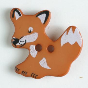 Brown Fox Button