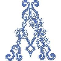 French Cross Stitch Alphabet by Janet Sansom