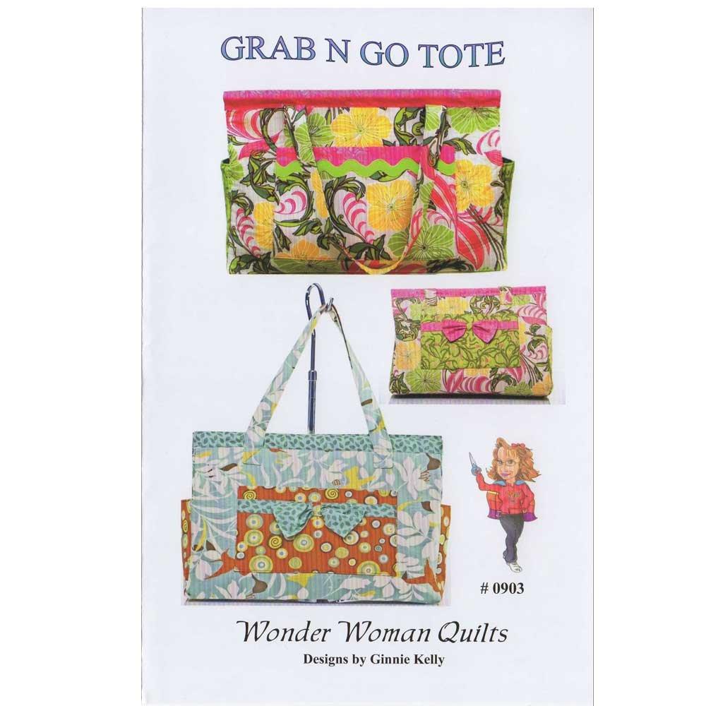 Grab N Go Tote Bag Pattern