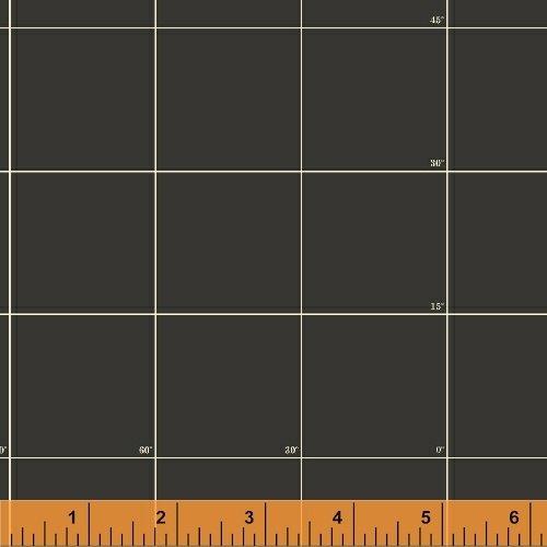 Meridian Charcoal Grid 50037-4