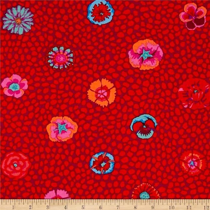 Guinea Flower- Red