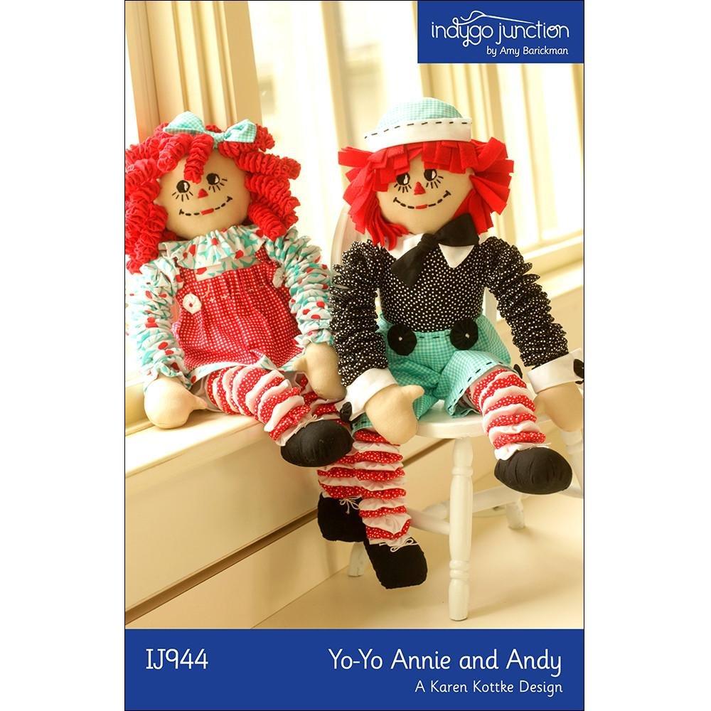 Yo Yo Annie and Andy Doll Pattern
