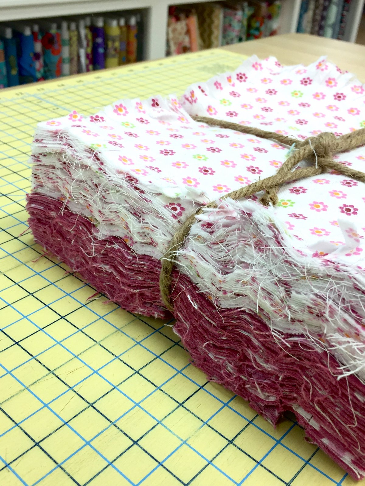 Pre-Cut Rag Quilt Kit