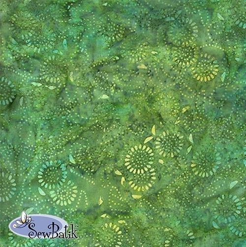 Batik Jersey Knit Medora Floral in Ivy 04510-1717
