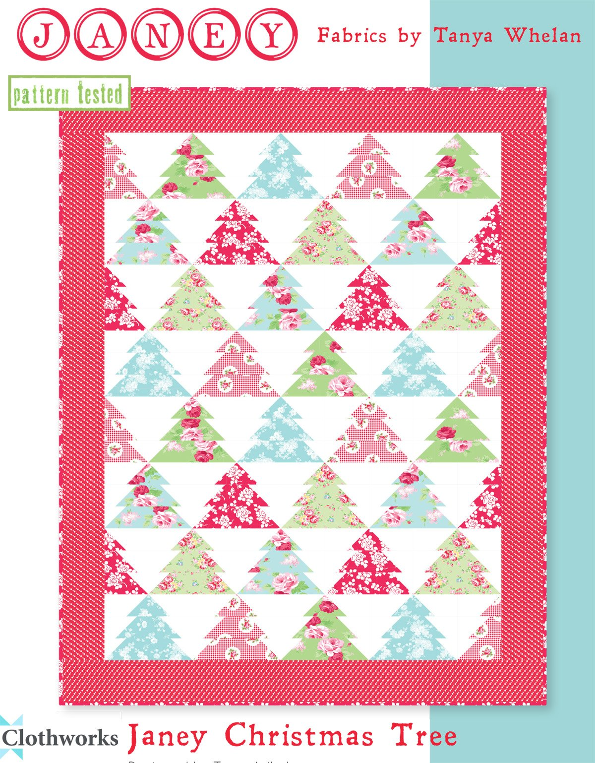 Janey  Christmas Tree Quilt Kit