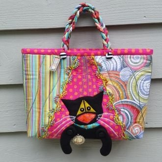 Kitty Kat Purse Pattern for the Serger