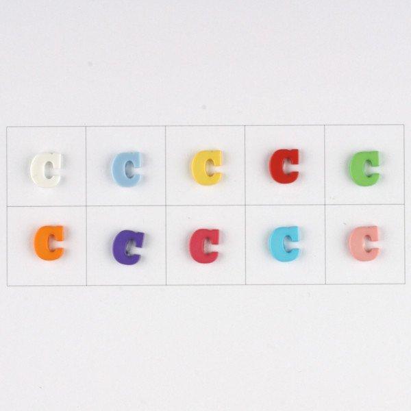 Letter C Button