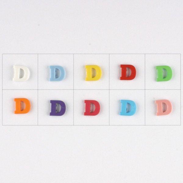 Letter D Button