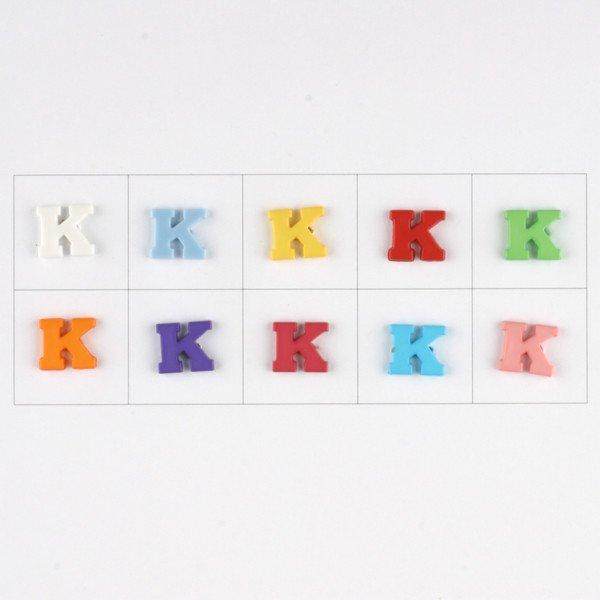 Letter K Button
