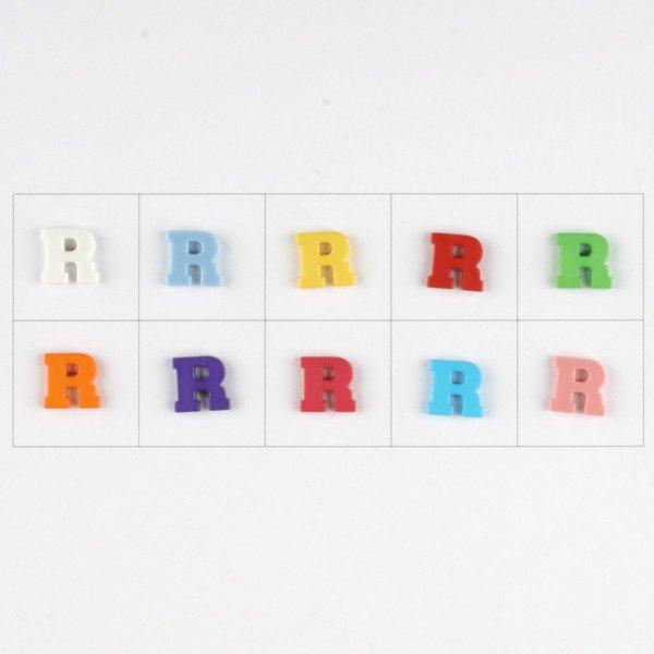 Letter R  Button