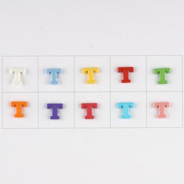 Letter T Button