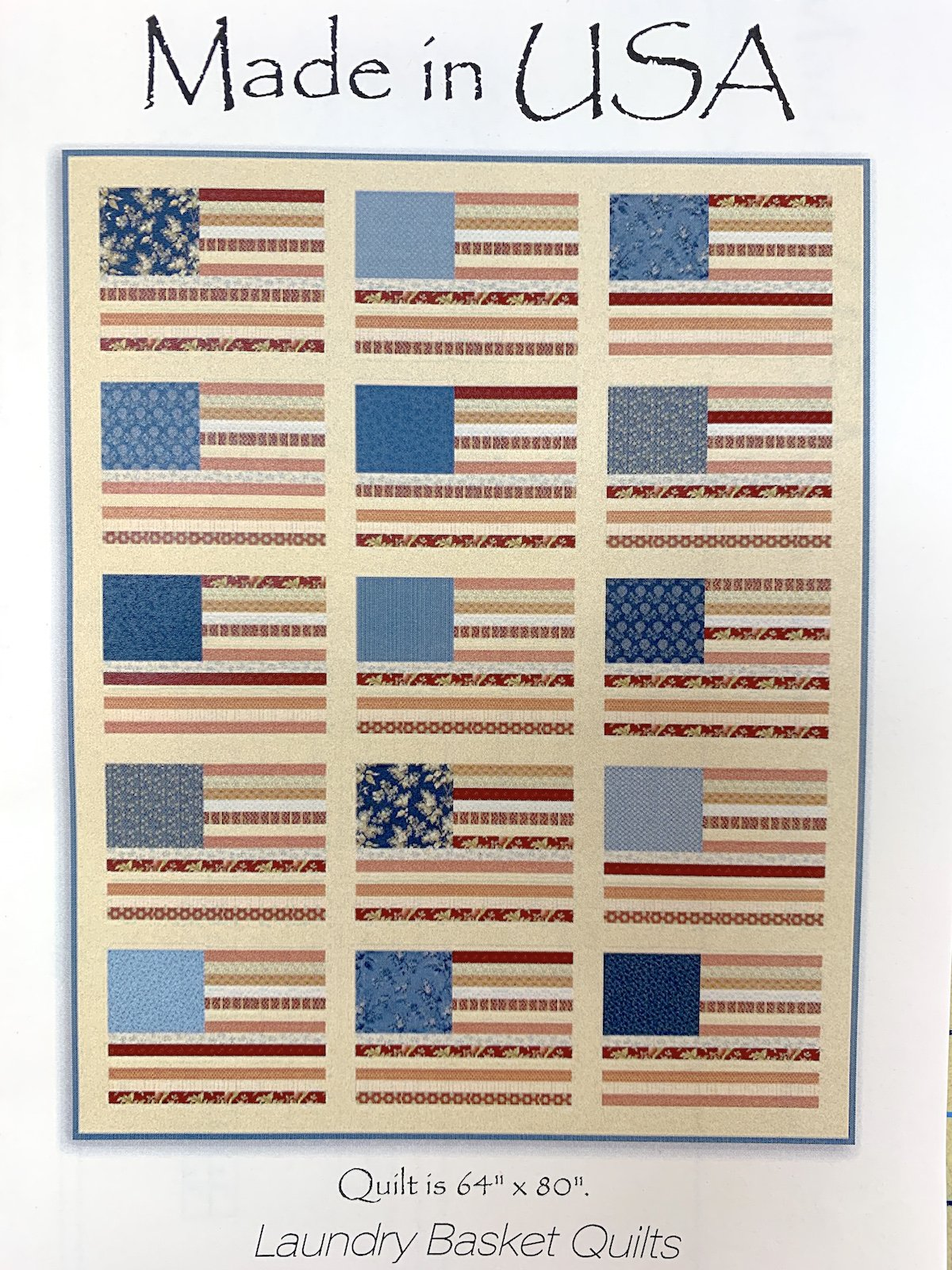 American Gathering Made in the USA Quilt Kit