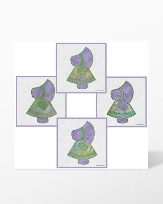 GO! Sunbonnet Sue Embroidery Designs CD