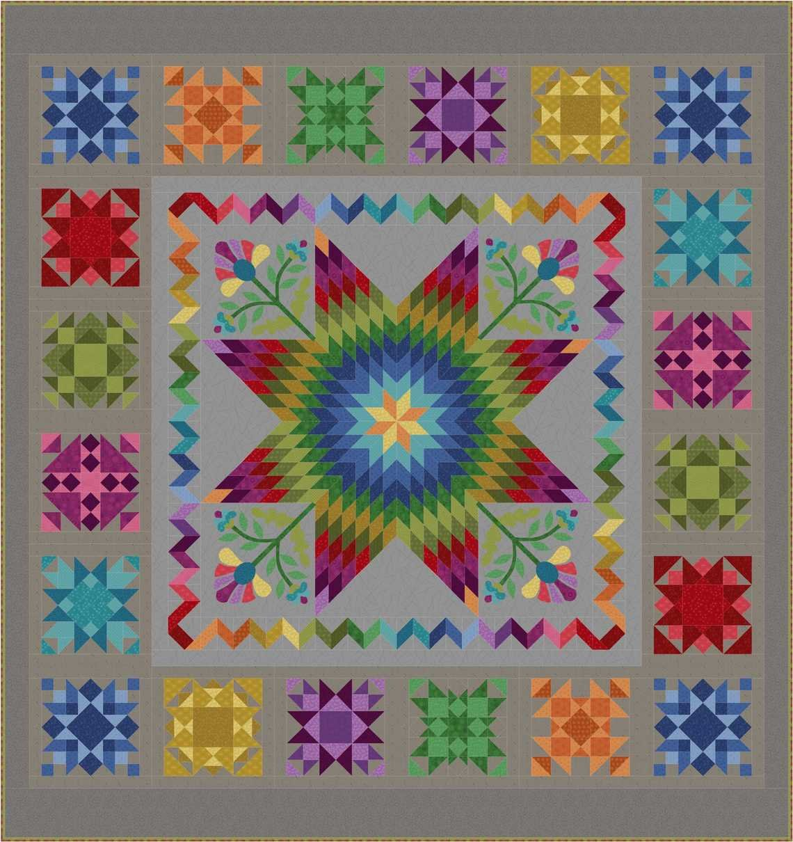 Getting to Know Hue Quilt Kit