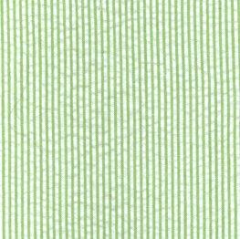 Green Mini Stripe Seersucker
