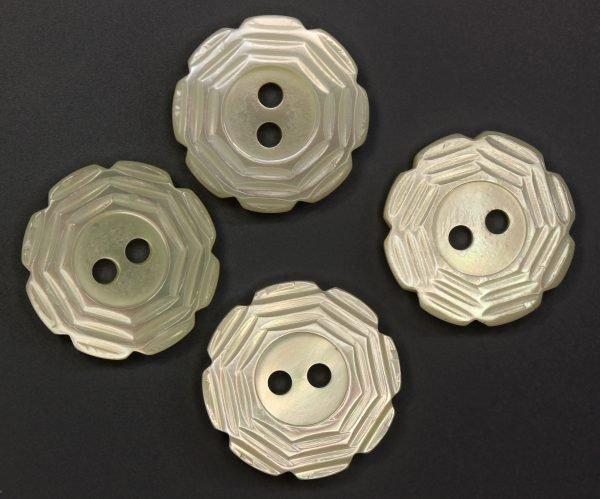 MOP Petals Button