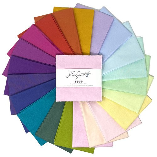 Tula Pink Mythical Designer Solids Charm Pack