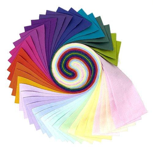 Tula Pink Mythical Designer Solids Design Roll
