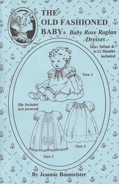 Baby Rose Raglan Dresses