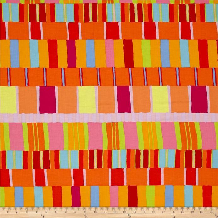 Layered Stripe- Orange