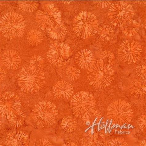 Cadmium Orange P2934 Hoffman Batik