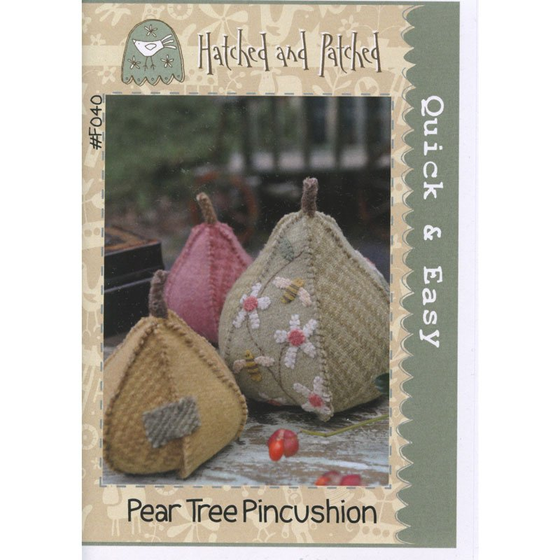 Pear Tree Pincushion Kit