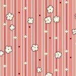 Aunt Grace R35-0324-0326 Pink Floral Stripe