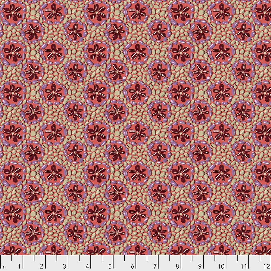 Land Art Stone Flowers in Rose PWOB024