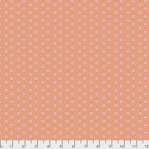 Tula Pink True Colors Peach Blossom