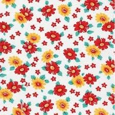 Morningside Farm ADZ-15883-3 Red Floral