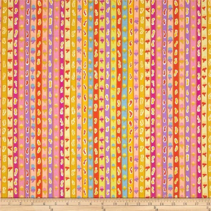 Ribbon Stripe- Yellow