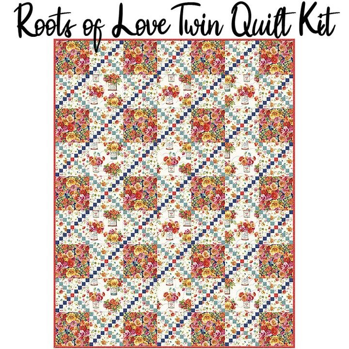Roots of Love Quilt Kit