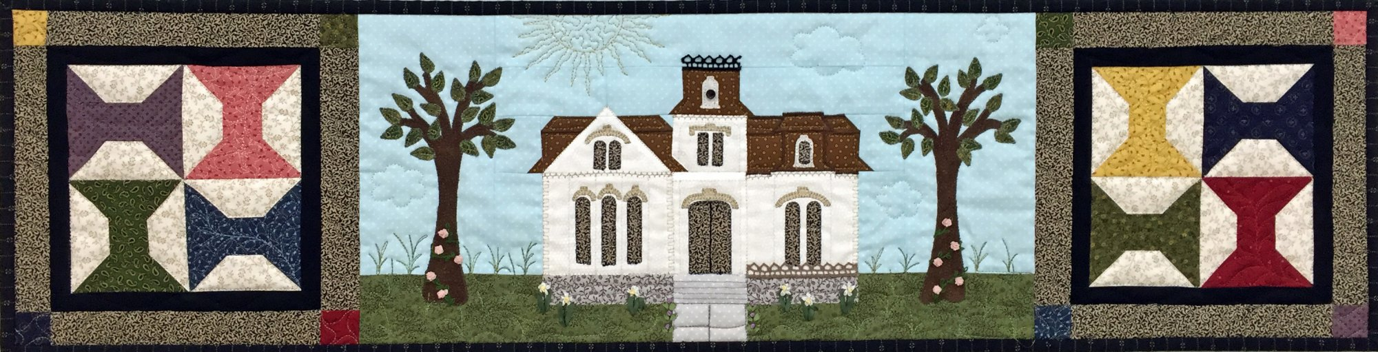 Row by Row 2016 Designing Women House Kit with Pattern