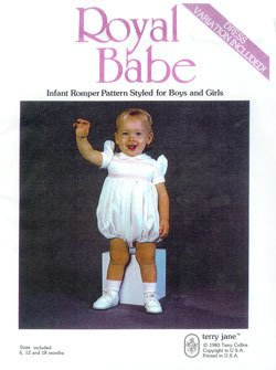 Royal Babe Romper