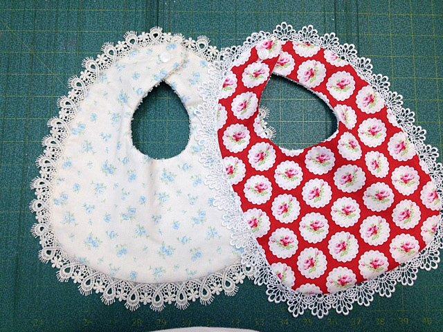 Shabby Chic Baby Bib Kits