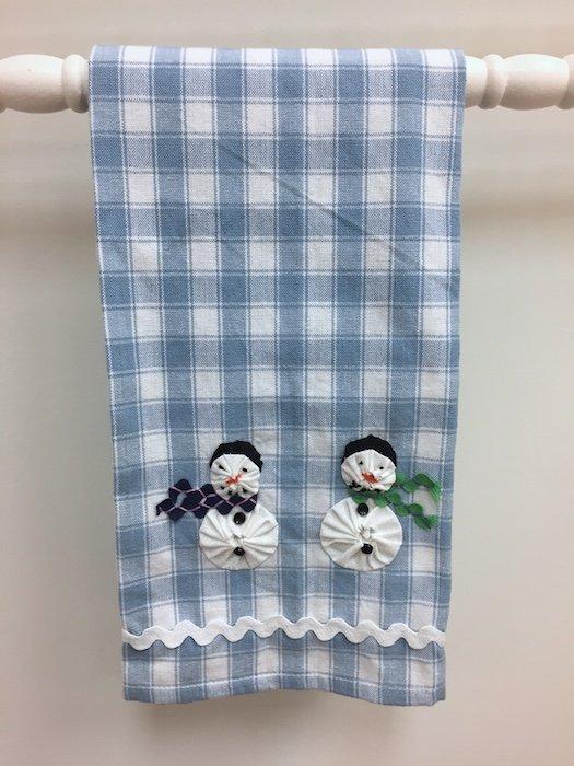 Snowmen Towel Kit