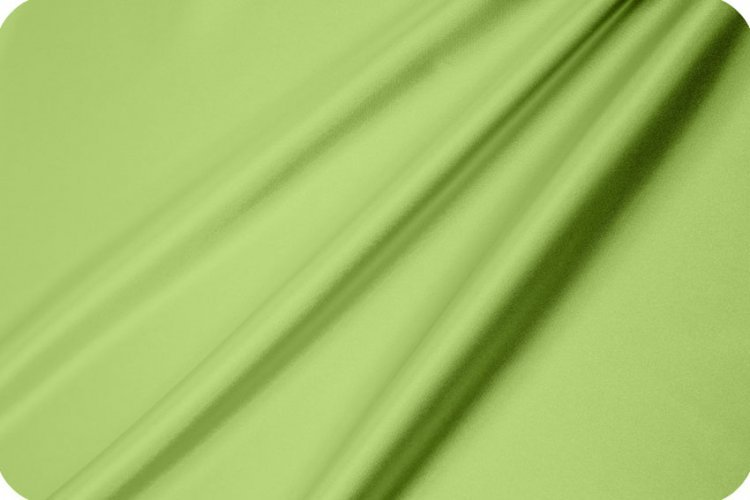 Silky Satin Solid Lime 295