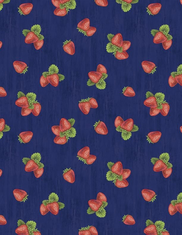 The Berry Best Strawberry Toss Navy 1828-82607-493