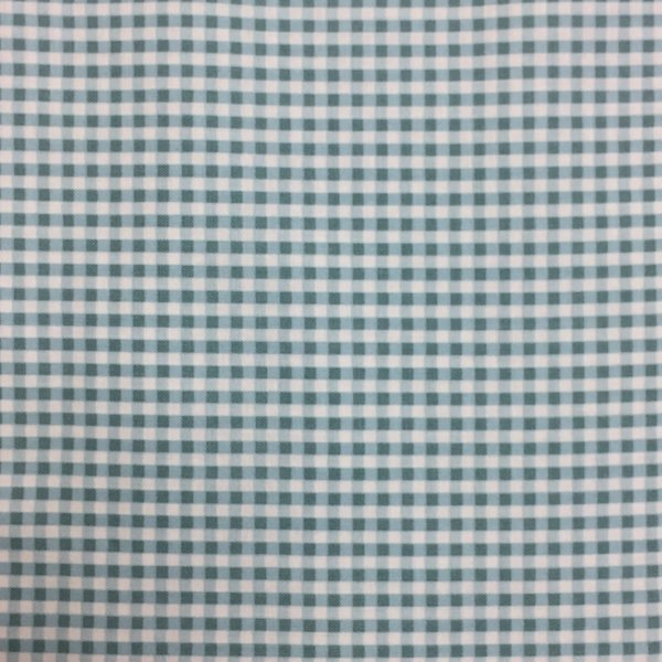 Sugar and Spice Gingham Blue