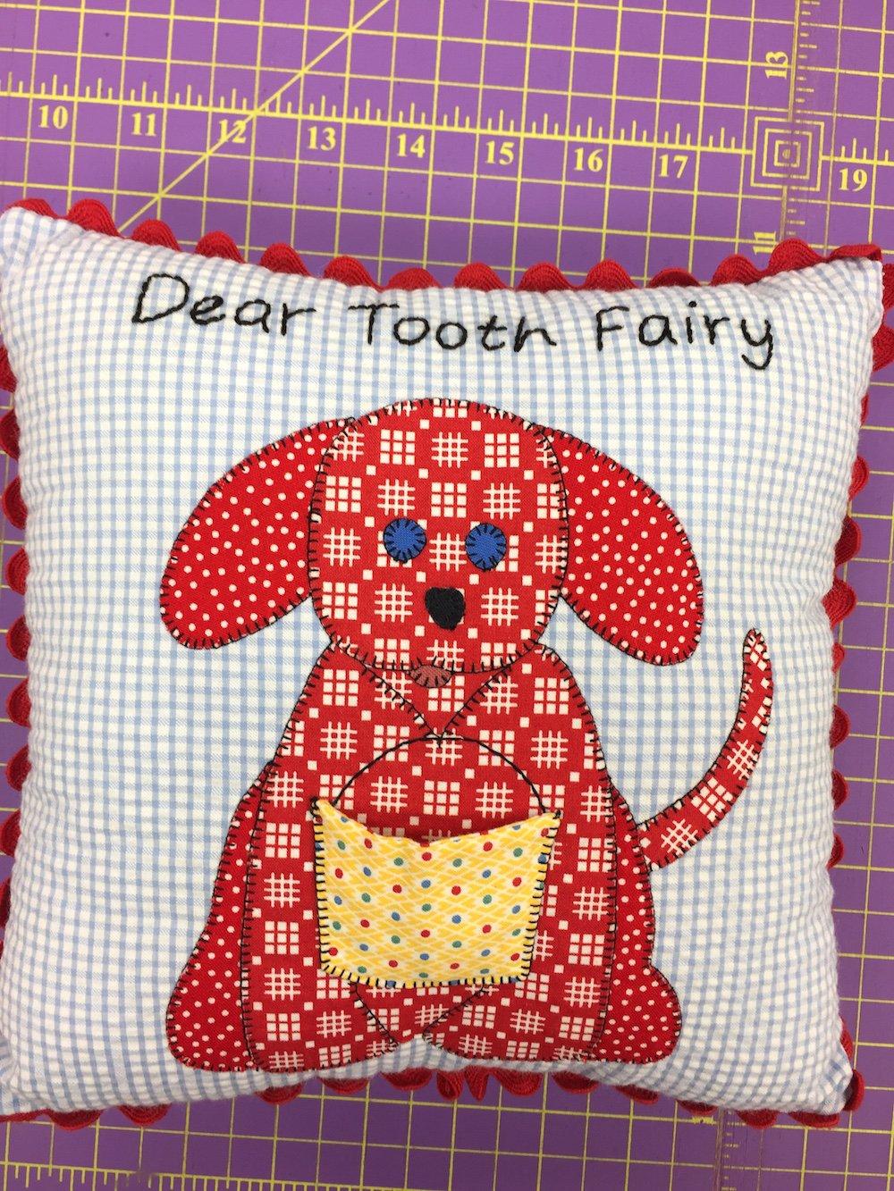 Dear Tooth Fairy Pillow Kit - Boy