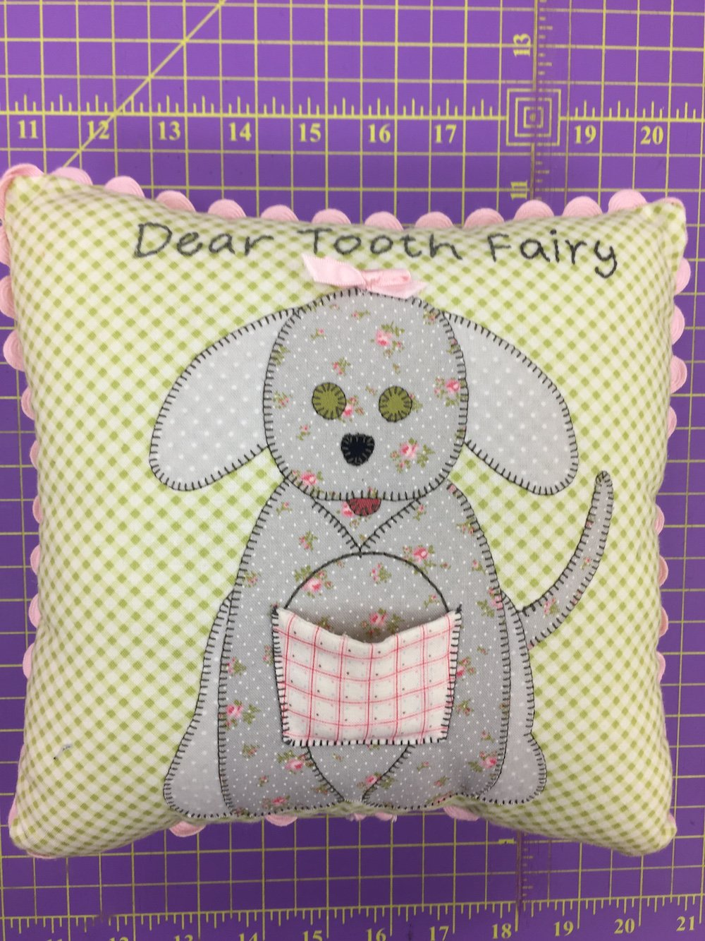 Dear Tooth Fairy Pillow Kit for Girls