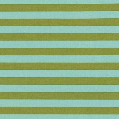 Tula Pink Tent Stripe in Agave PWTP069