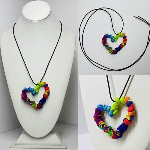 Ficklesticks Twisted Heart Necklace N12