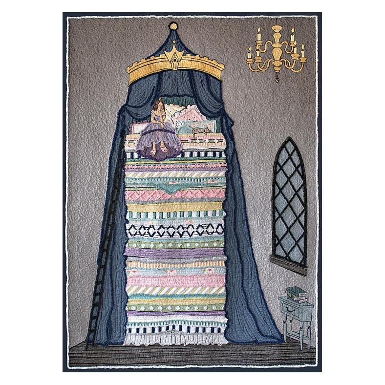 Princess and the Pea Panel and Chenille Embellishment Kit